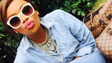 Photo of 5 Times Bonang Rocked The Ripped Jeans Trend