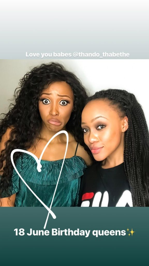 Image result for thando thabethe with sbahle mpisane