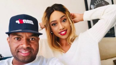 Photo of Check Out Khune And His New Girlfriend Wearing Matching Outfits